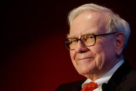 """وارن بافيت """" Warren Buffett """" (ملحد، تبرّع بـ 40.785 مليار دولار في سبيل """"الصحّة والتعليم والقضايا الإنسانية"""")"""