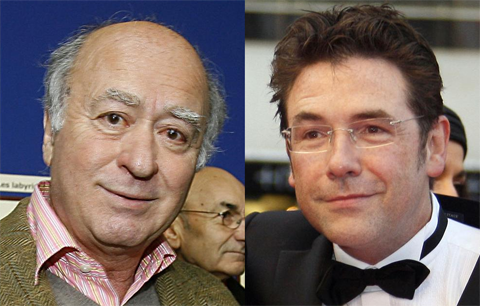 "Georges Wolinksi et Verlhac ""Tignous"" Bernard"